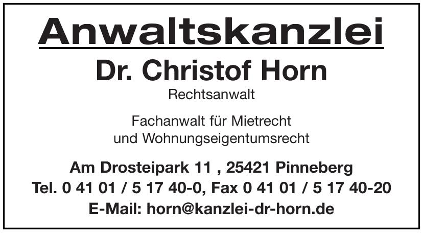Dr.Christof Horn