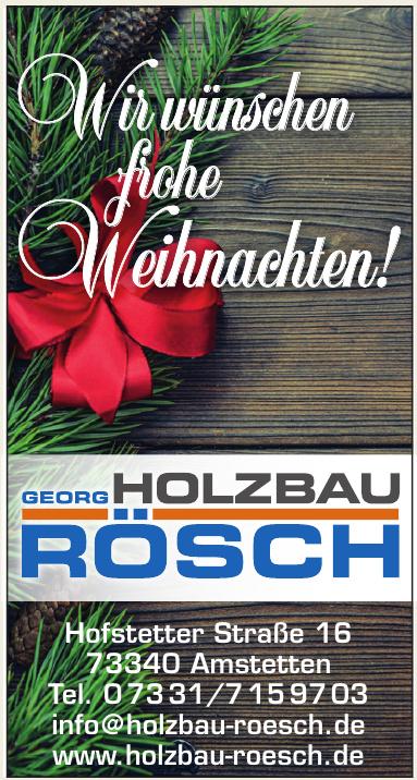 Holzbau Rösch