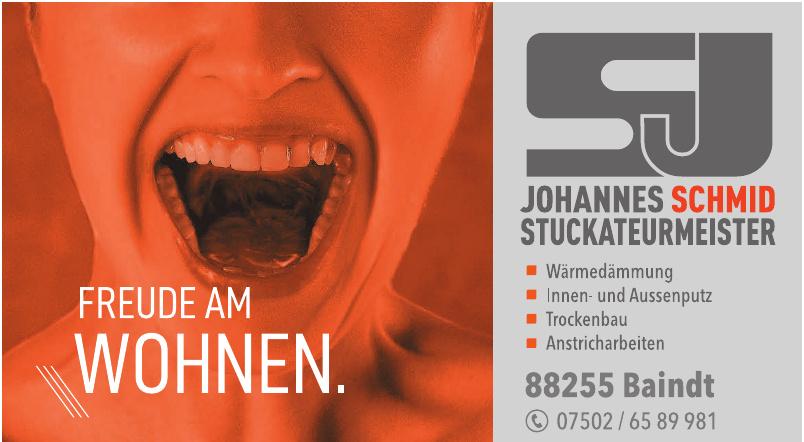 Johannes Schmid Stuckateurmeister