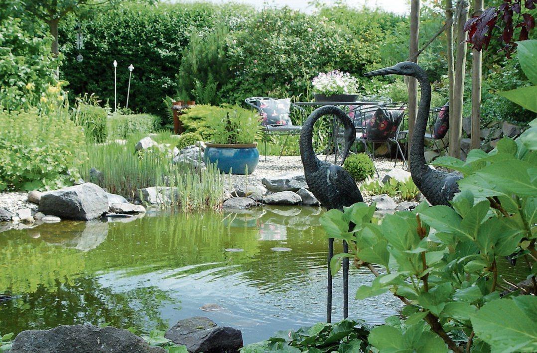 Einzigartiges Urlaubsparadies: An keinem anderen Ort kann man Erholung und Ruhe privater erleben und genießen als im eigenen Garten. Bild: BGL