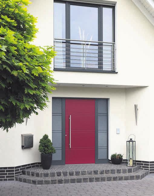 Ob Holz, Aluminium oder ein Mix aus beidem: Ein hohes Maß an Sicherheit und Wärmedämmung haben alle Haustüren von Othmer.
