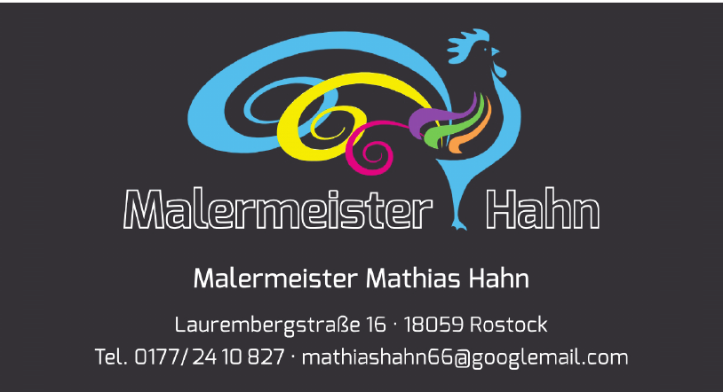 Malermeister Mathias Hahn