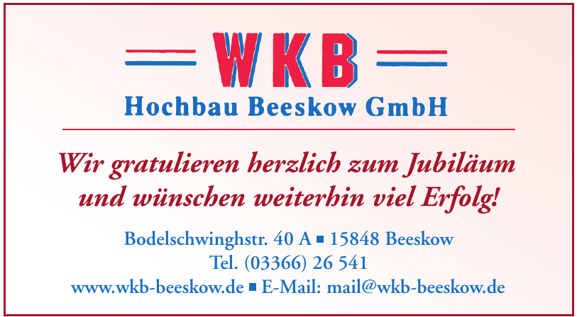WKB Hochbau Beeskow GmbH