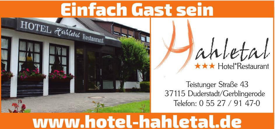 Hahletal Hotel-Restaurant