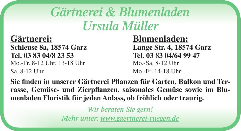 Gärtnerei & Blumenladen Ursula Müller