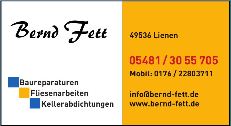 Bernd Fett