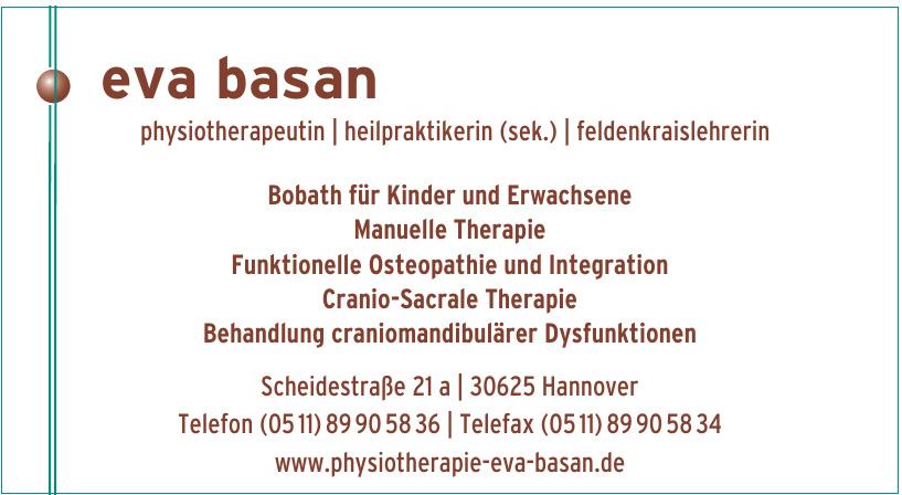 Eva Basan Physiotherapeutin