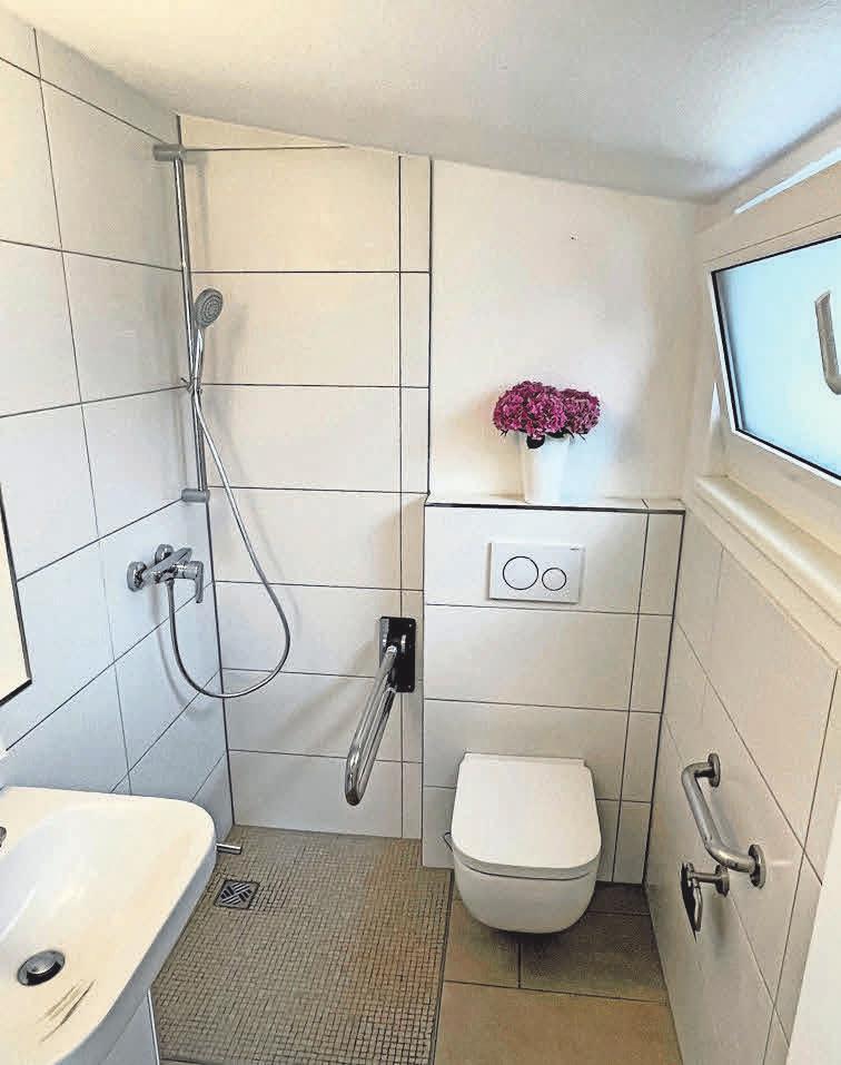 So modern kann ein frisch saniertes Bad aussehen. Foto: Brunner Haustechnik