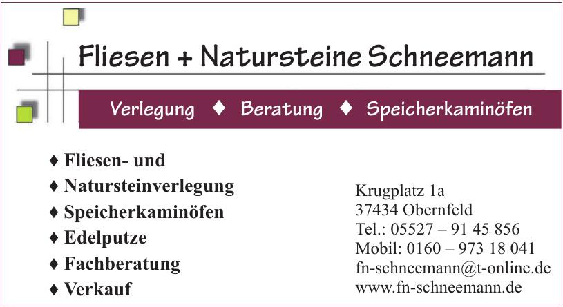Fliesen + Natursteine Schneemann