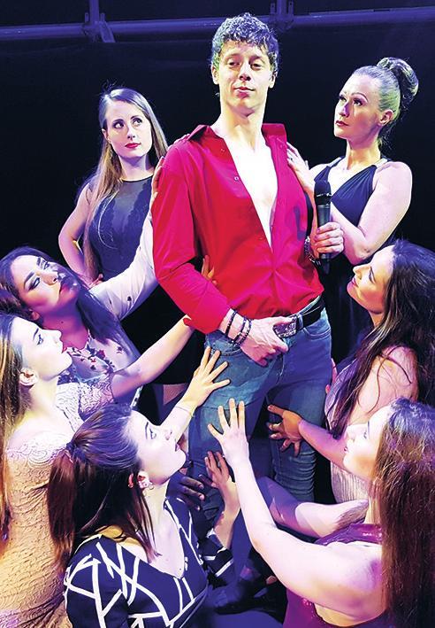 """""""Sexbomb – das Tom Jones Musical"""" wird am 4. März 2020, 19.30 Uhr, im """"theater itzehoe"""" gezeigtFoto: Seberg Production"""