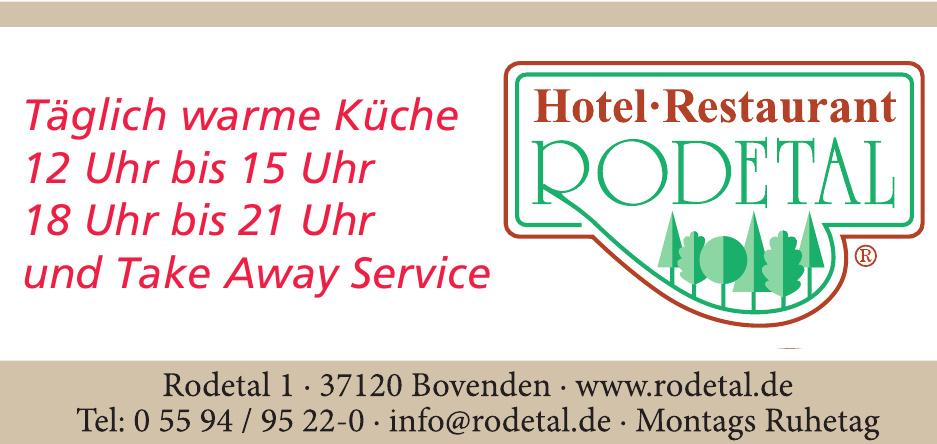 Hotel Restaurant Rodetal
