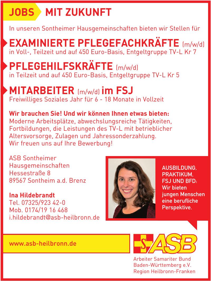 Arbeiter Samariter Bund Baden-Württemberg e.V. Region Heilbronn-Franken