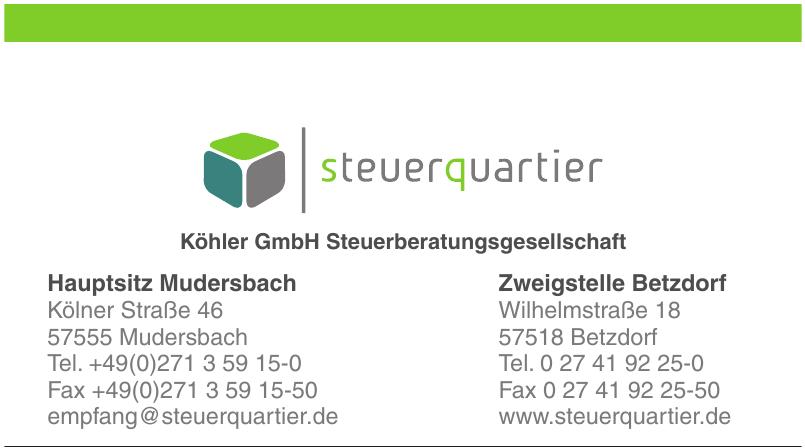 Köhler GmbH Steuerberatungsgesellschaft