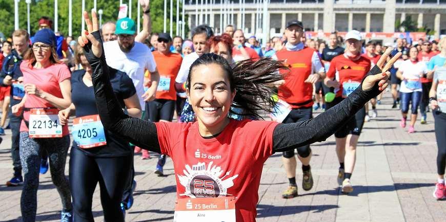 Am 10. Oktober können Teilnehmer die klassische 25-Kilometer-Distanz absolvieren, zehn Kilometer einen Halbmarathon oder einen Staffellauf für Teams (5x5 Kilometer). FOTO: JUERGEN ENGLER
