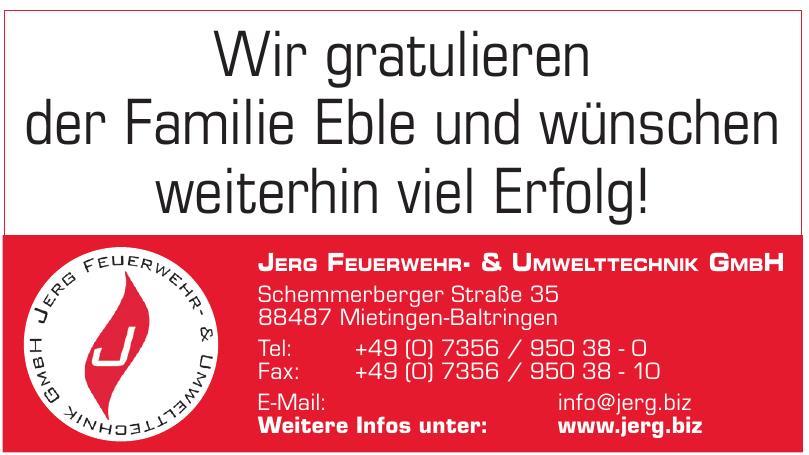 Jerg Feuerwehr- & Umwelttechnik GmbH