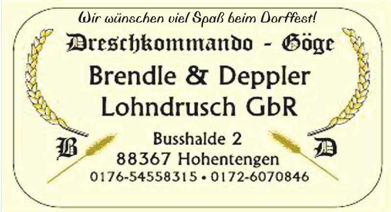 Brendle + Deppler Lohndrusch GbR