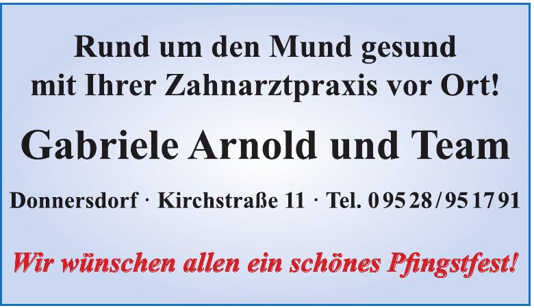 Gabriele Arnold und Team