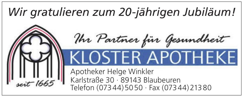 Kloster Apotheke