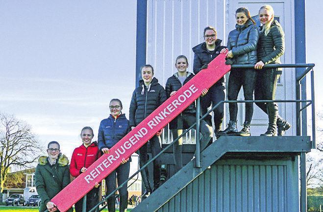 V Rinkerode: Hoch hinaus soll es für die Equipe aus Drensteinfurt gehen, die im vergangenen Jahr einmal ausgesetzt hat. Foto: Florian Voß