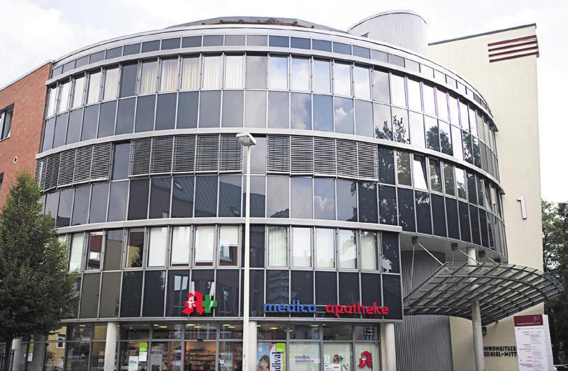 Das fer tilitycenter im Gesundheitszentrum Kiel-Mitte im Prüner Gang