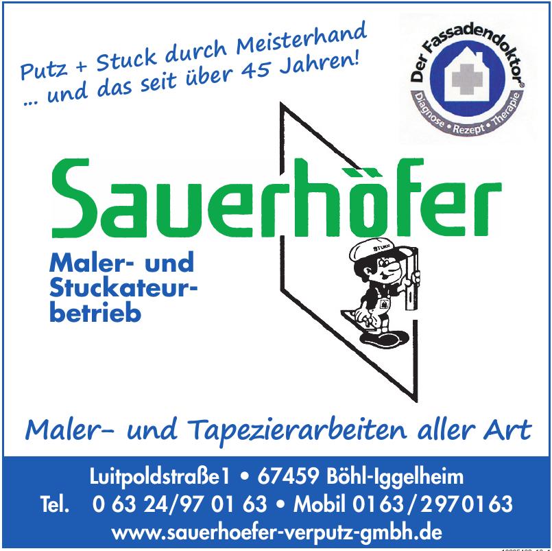 Sauerhöfer-Verputz GmbH