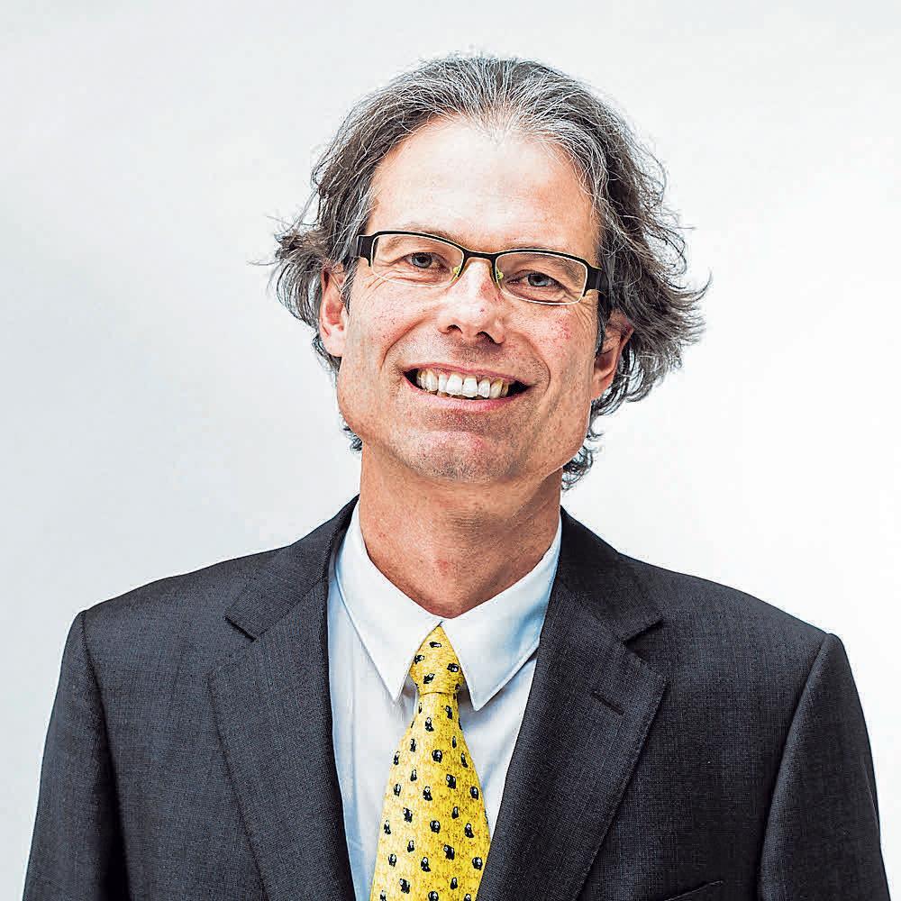 Dr. Rolf Luchsinger Foto: Christian Clavadetscher