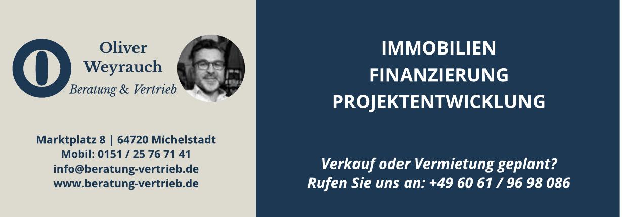 Oliver Weyrauch Beratung & Vertrieb