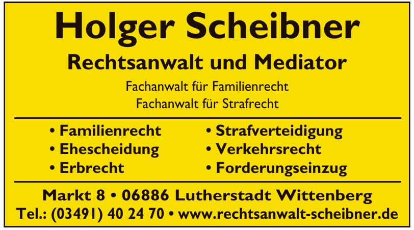 Holger Scheibner Rechtsanwalt und Mediator
