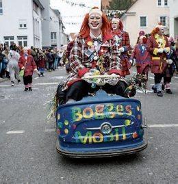 Die Narren übernehmen die Stadt Rottenburg Image 1