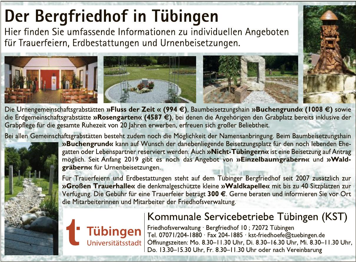 Kommunale Servicebetriebe Tübingen (KST)