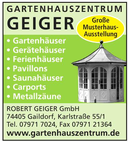 Gartenzentrum Geiger - Robert Geiger GmbH