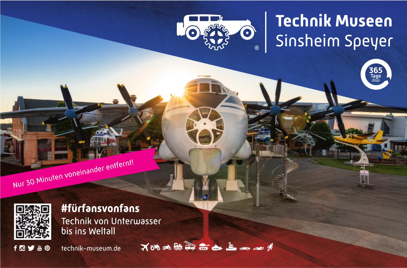 Technik Museen Sinsheim Speyer