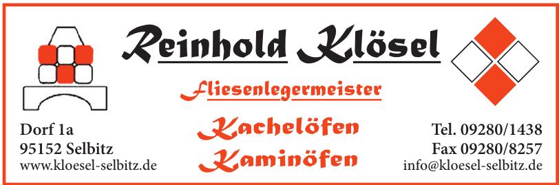 Reinhold Klösel