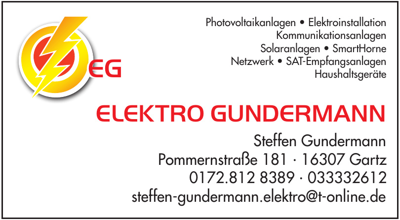 EG Elektro Gundermann