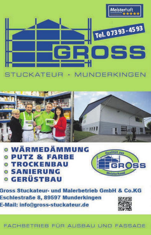 Gross Stuckateur- und Malerbetrieb GmbH & Co. KG