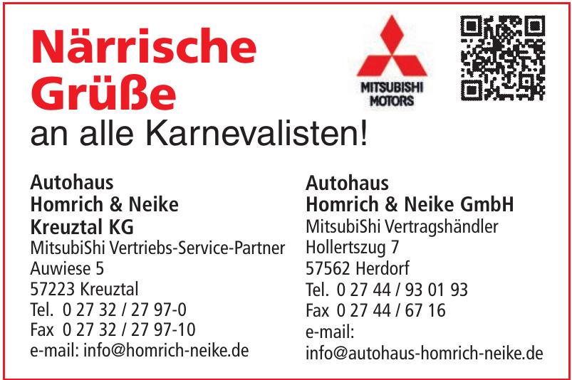 Autohaus Homrich & Neike Kreuztal KG