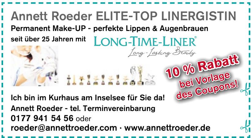 Annett Roeder Elite-Top Linergistin