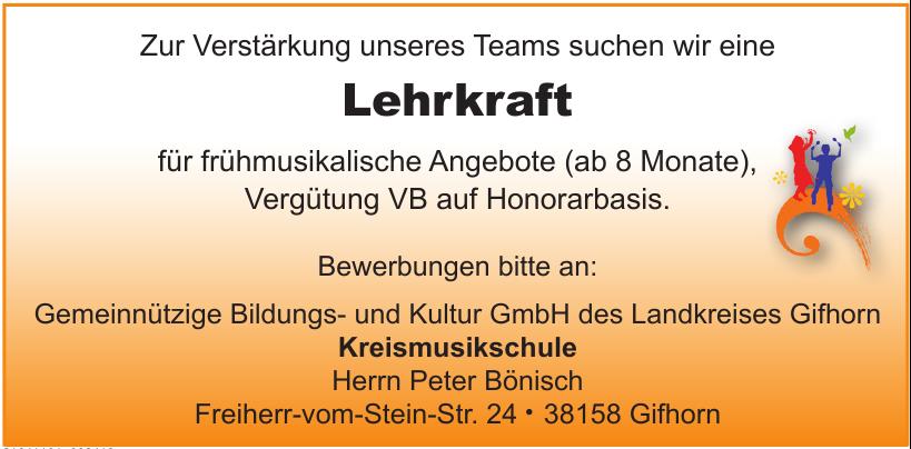 Gemeinnützige Bildungs- und Kultur GmbH des Landkreises Gifhorn - Kreismusikschule
