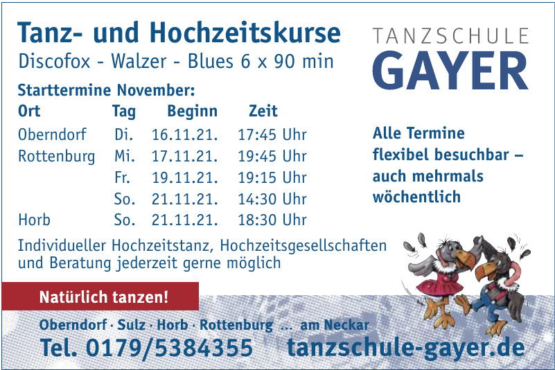 Tanzschule Gayer