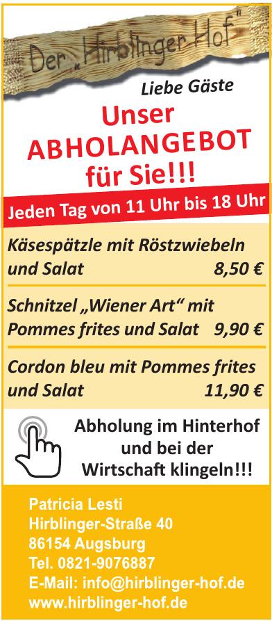 Gasthaus Hirblinger Hof