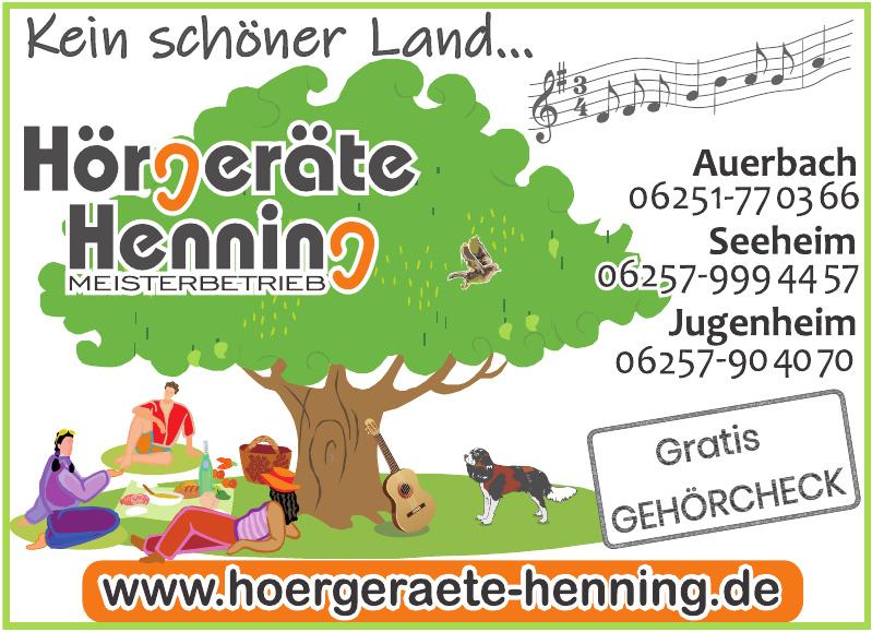 Hörgeräte Henning