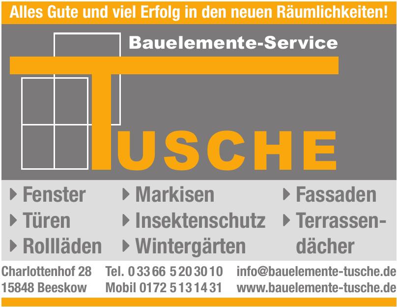 Tusche Bauelemente-Service
