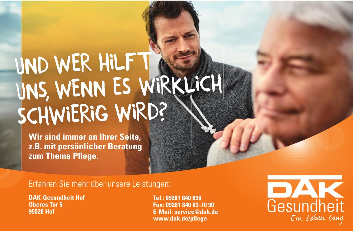 DAK-Gesundheit Hof