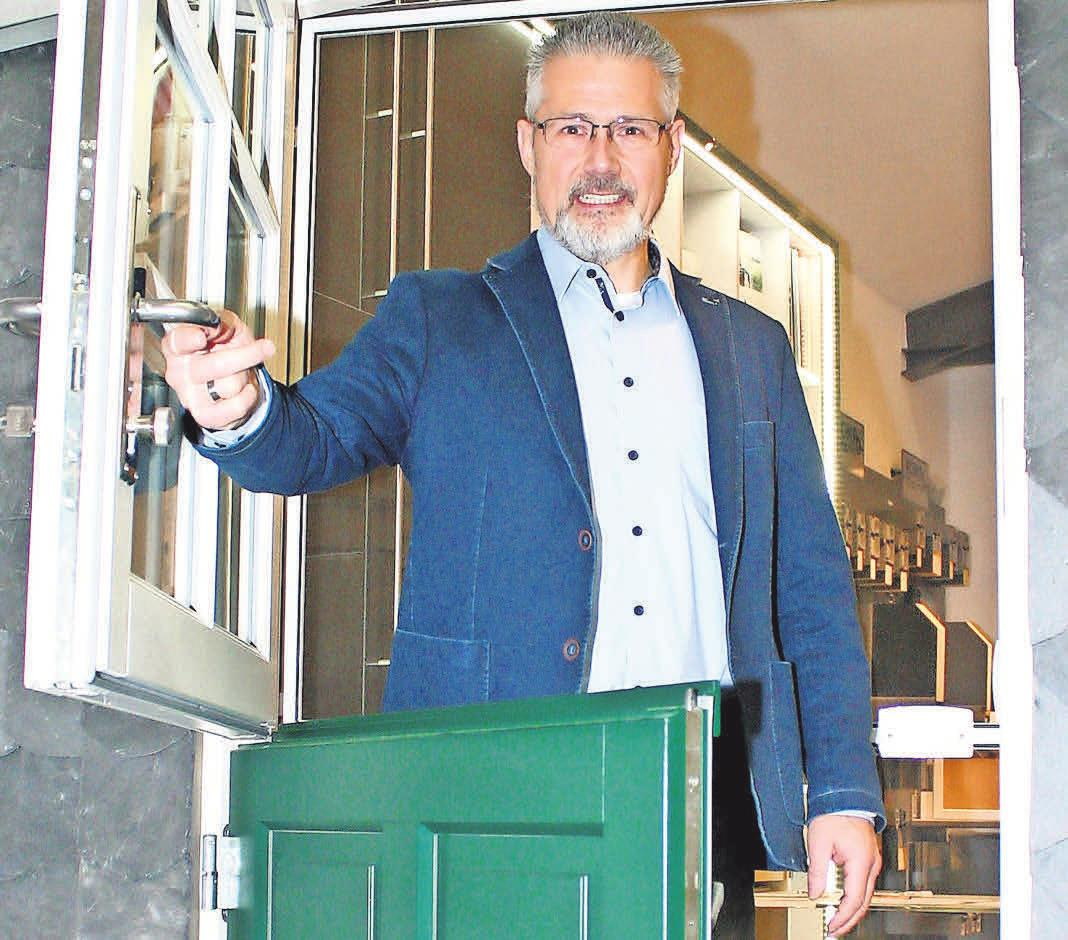Rainer Sysskowski (58), langjähriger Mitarbeiter der Firma Fiergolla, ist der neue Geschäftsführer der W. Svenson GmbH. Foto: tha