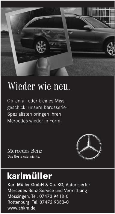 Karl Müller GmbH & Co. KG, Autorisierter