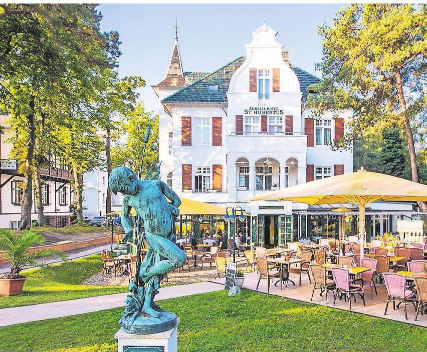 Das Hotel gehört zu den schönsten auf Usedom. Foto: Aurelia Hotel & Villen