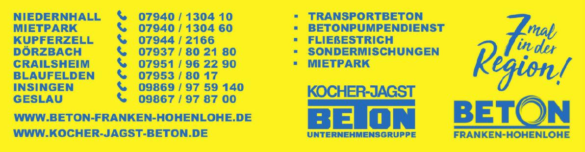 Kocher-Jagst Transportbeton GmbH & Co. KG