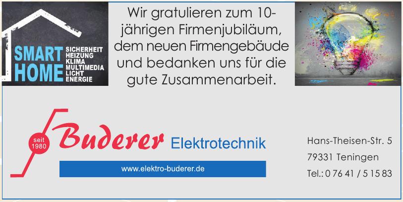 Buderer Elektrotechnik