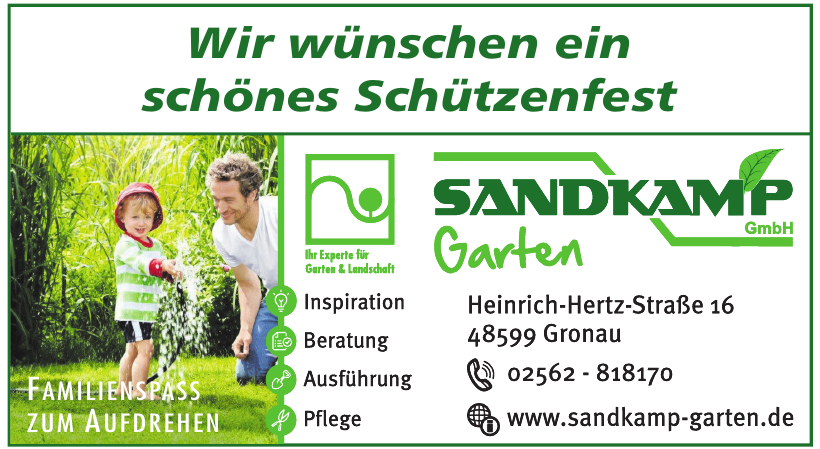 Sandkamp Garten