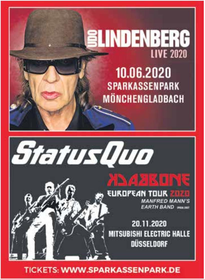 Udo Lindeberg - Live 2020